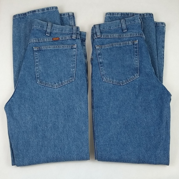 Rustler Other - Rustler Jeans 2 Pair Tag 34 x 34 Actual 33 x 33
